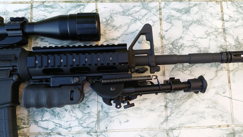 carabine M4 custom en 223 remington. 20170325