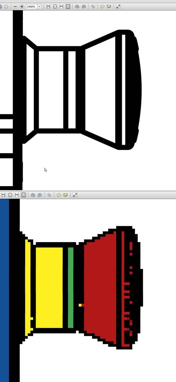 PDF vectoriel  Sw2pdf10