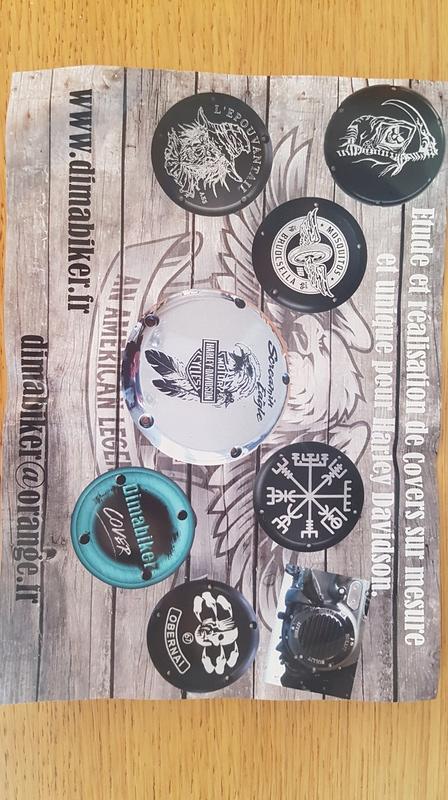 Fabrication de cover pour Harley Davidson 20170610