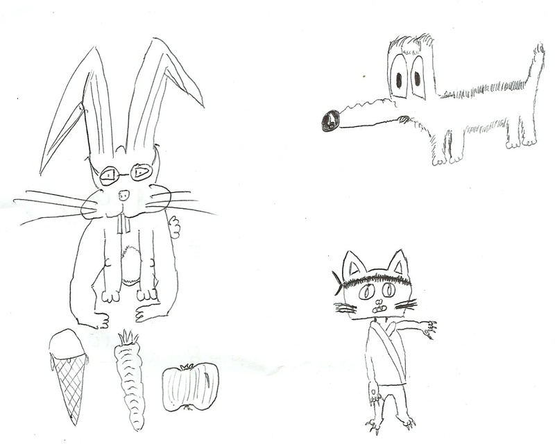 Une feuille et un crayon - Page 2 Dessin10