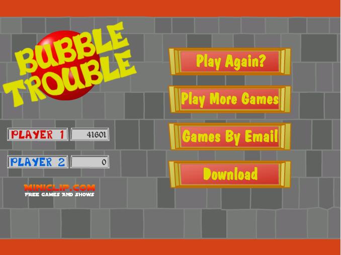 Concours sur un jeu en flash : Bubble Trouble Sans_t12