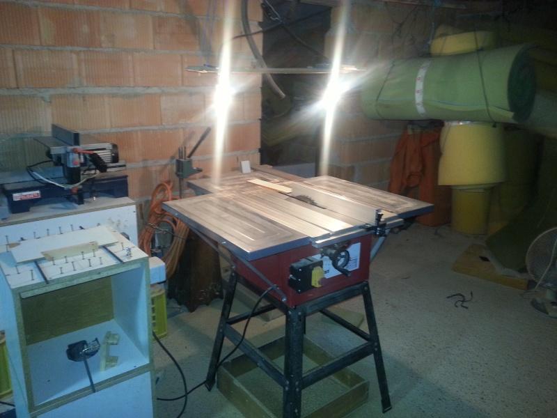 ¿Cuál es la altura ideal para una mesa de sierra circular? 1loo10