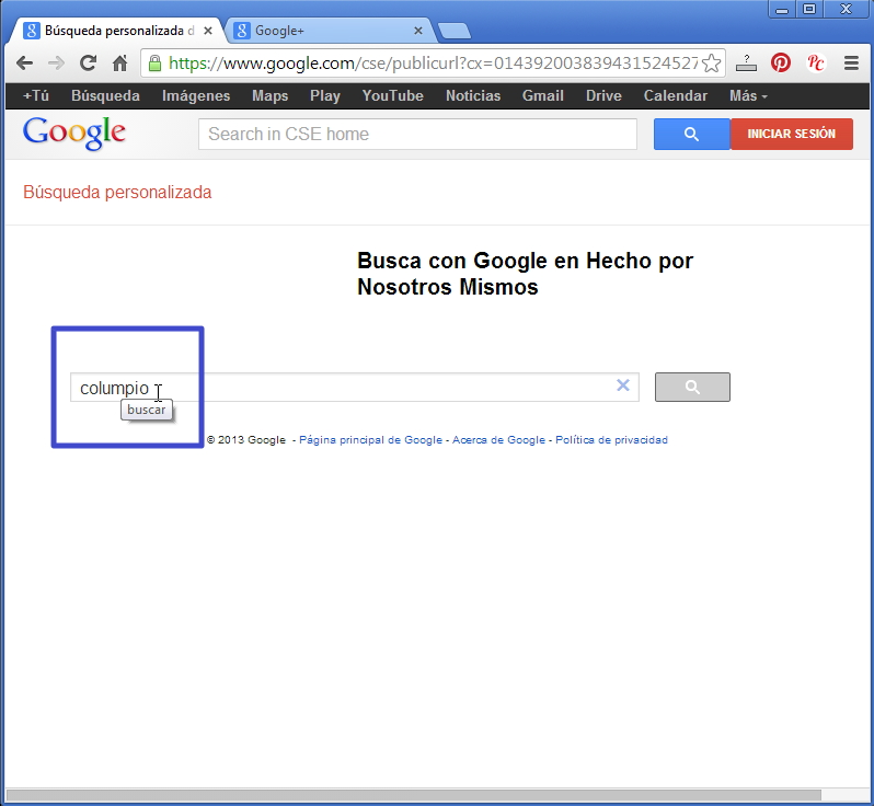 Nueva forma de buscar en el Foro con Google Busgoo12