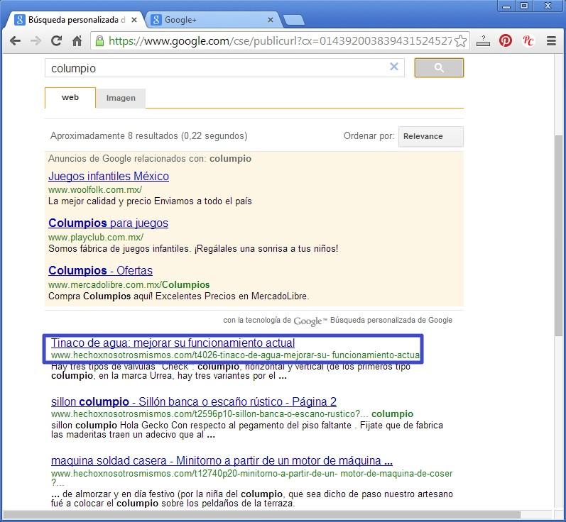 Nueva forma de buscar en el Foro con Google Busgoo13