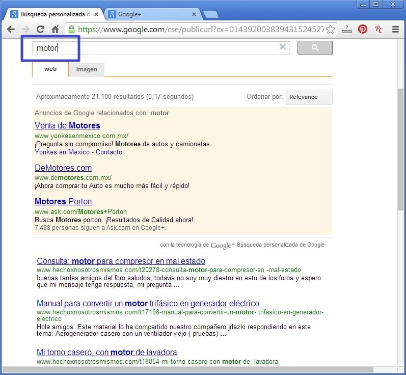 Nueva forma de buscar en el Foro con Google Busgoo15