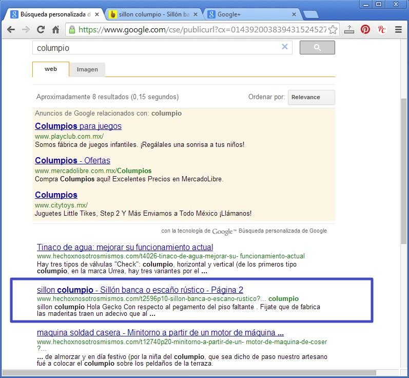 Nueva forma de buscar en el Foro con Google Busgoo17