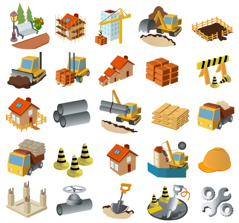 Rompecabezas de maquinaria y construcción Rompe-10