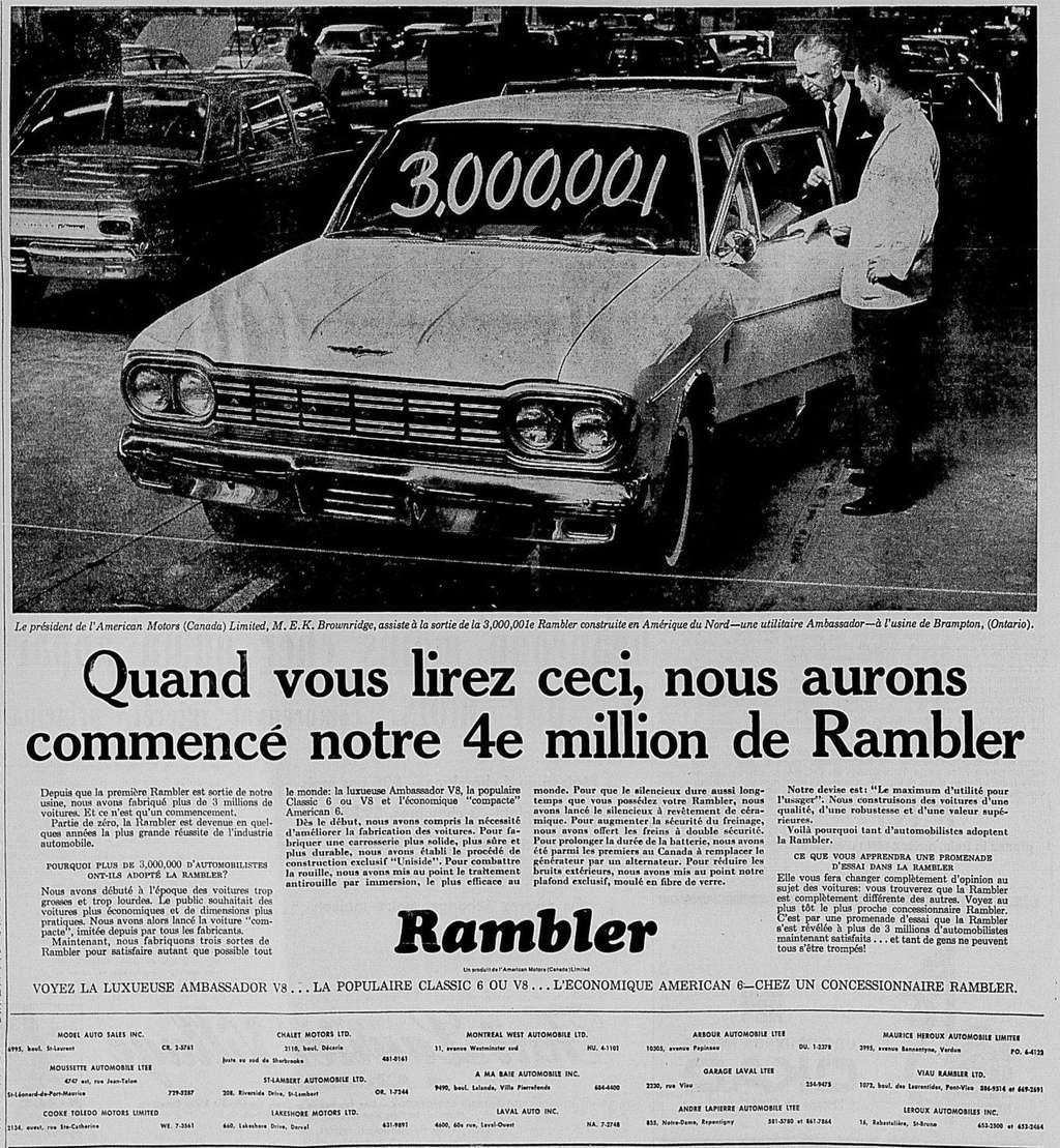 Vieilles publicités AMC au Québec - Page 2 1964_015