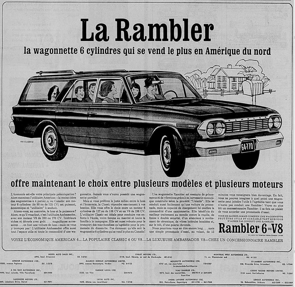 Vieilles publicités AMC au Québec - Page 2 1964_016