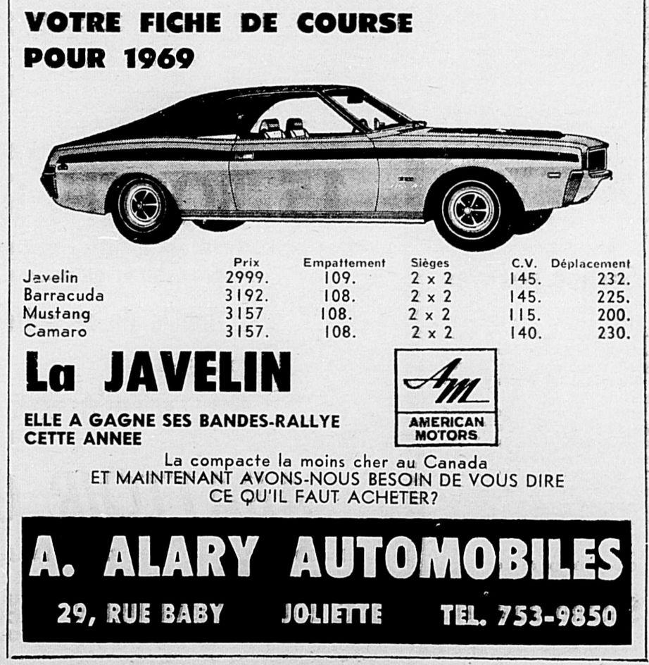 Vieilles publicités AMC au Québec - Page 2 1969_011