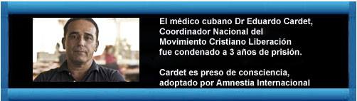 Condenan a líder del MCL Eduardo Cardet a 3 años de prisión Cuba_d10