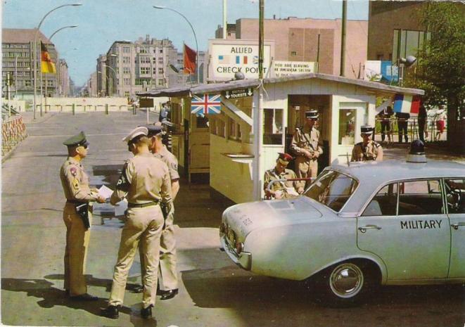 Gendarmerie en Allemagne Berlin10