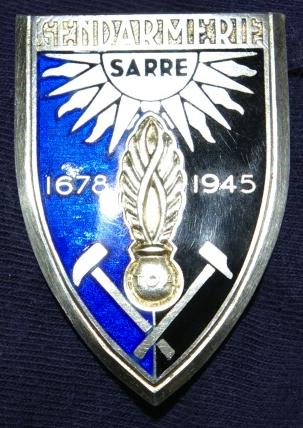 Gendarmerie en Allemagne Sarre110