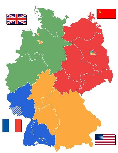Gendarmerie en Allemagne Zones_10