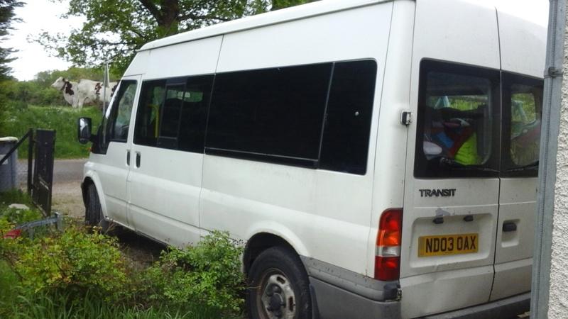 [MK6] minibus en route vers l'amenagement 20170510