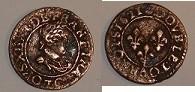 double tournois Louis XIII à identifier Dougla10
