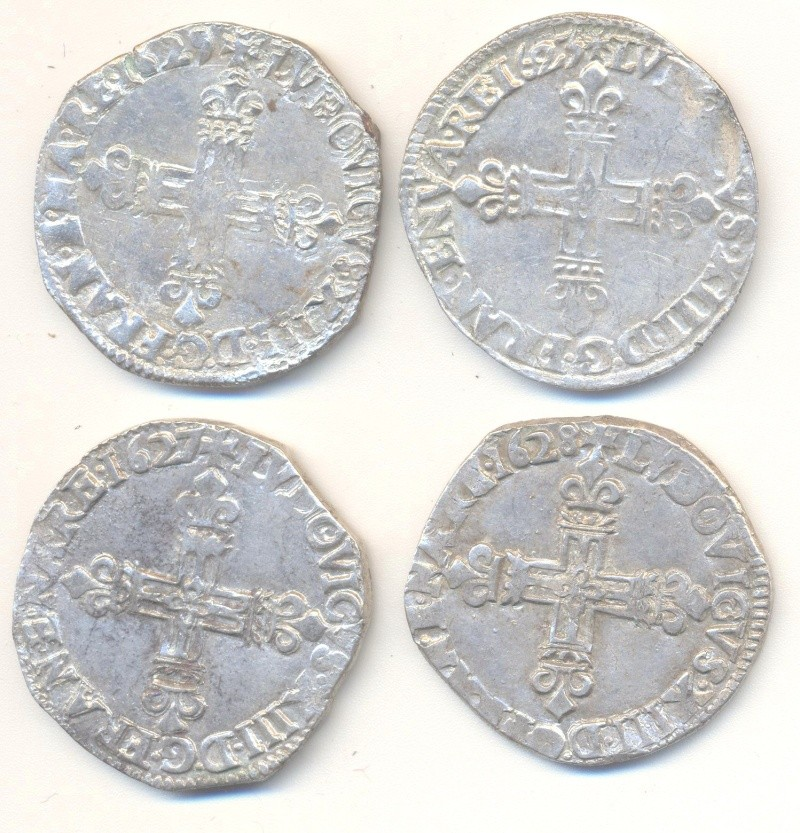 quart d'écu 1629 L Lot_qu10