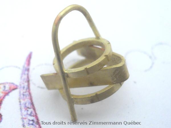 Boucles d'oreille or serti griffes avec des citrines de Daniel Stair Dscn0517