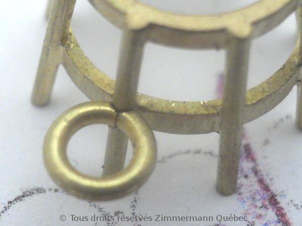Boucles d'oreille or serti griffes avec des citrines de Daniel Stair Dscn0520