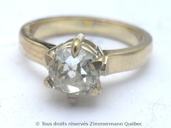 Solitaire diamant taille ancienne avec PALMETTES rapportées Dscn0617
