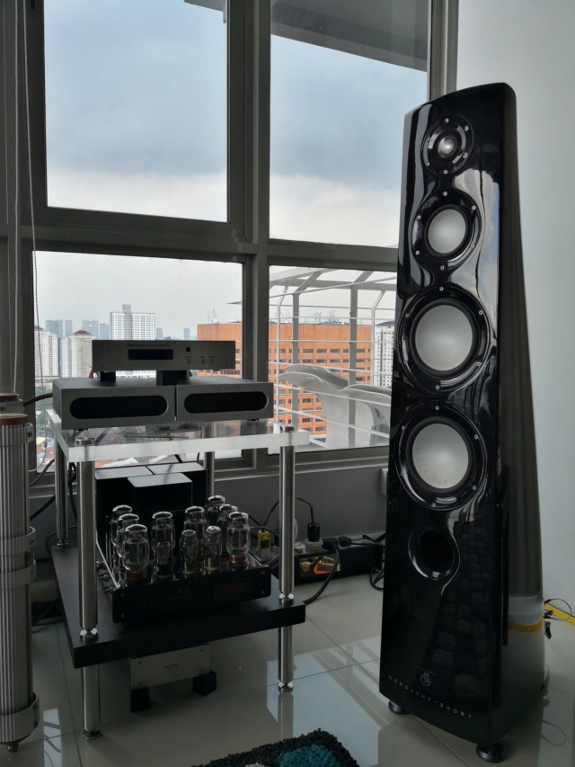 Rare  Mordaunt Short Performance 6 Limited Edition Speakers (Used) Img_2038