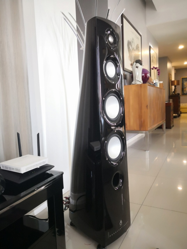 Rare  Mordaunt Short Performance 6 Limited Edition Speakers (Used) Img_2039