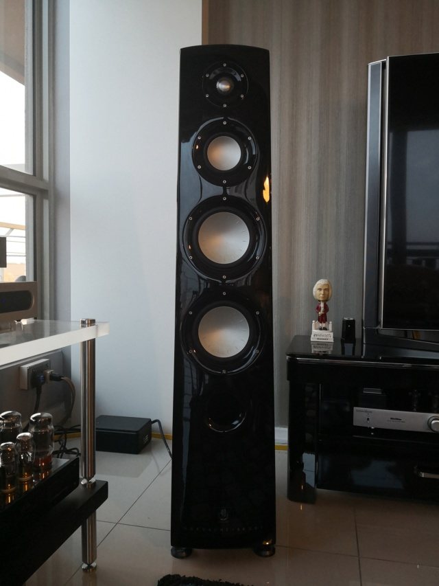 Rare  Mordaunt Short Performance 6 Limited Edition Speakers (Used) Img_2040