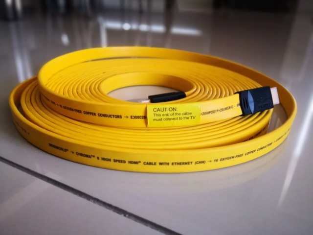 Wire World Chroma 6 HDMI cable (12 Meters) - Used Img_2058