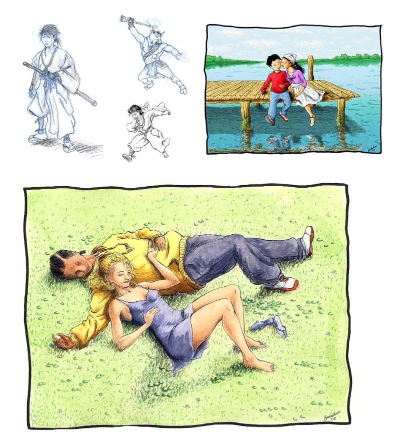 [inspi] Timeline - vos vieux dessins 2008-210