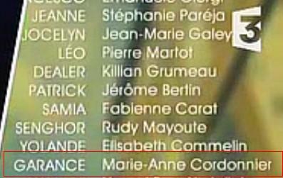 Les acteurs qui ont joué plusieurs rôles dans le feuilleton Cordon10