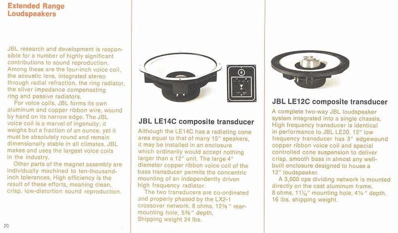 JBL LE14C - Alnico V Coaxial 15inch speaker (SOLD) Img_9514