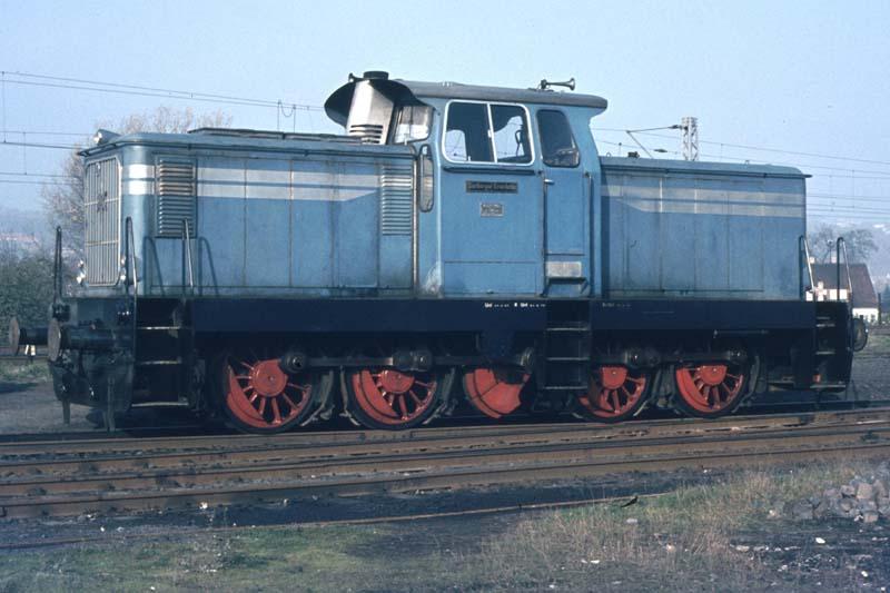 Dampflokabschied bei der Marburger Kreisbahn Diesel10