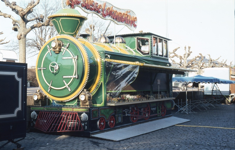 Eine bunte Lokomotive Gs-d-011