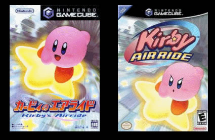 les jeux jap ayant changé de noms lors de leurs sortis en us et pal Kirby110