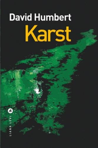 [Humbert, David] Karst Couv4410