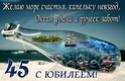 С 45-ЛЕТИЕМ 45-yub11
