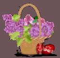 """Клипарт в Png - """"Пасха"""" Basket10"""