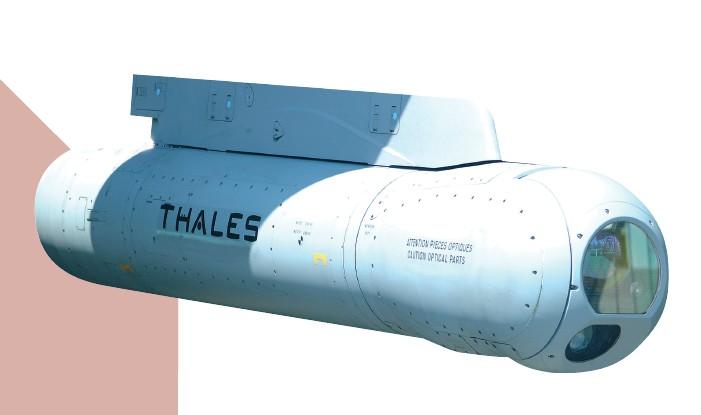 Pod de Designation Laser & Recce des FRA / RMAF Laser Designator and Recce Pod Damm10