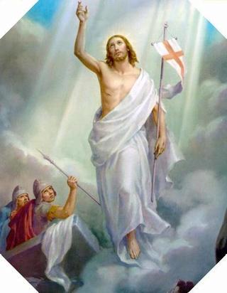 Tswv Ntuj txoj kev Khuv Leej Neeg.( Neuvaine à la Divine  Miséricorde) - Page 4 Resurr10
