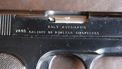 Model 1908 .25 Hammerless Pocket Automatic Colt_111