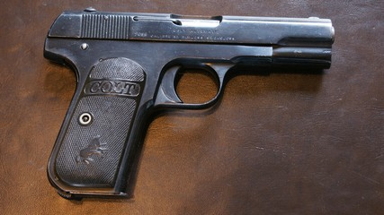 Model 1908 .25 Hammerless Pocket Automatic Colt_112