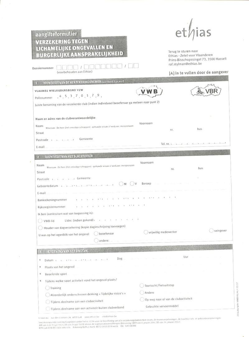 Assurances : Vlaamse Wielrijdersbond Assura11