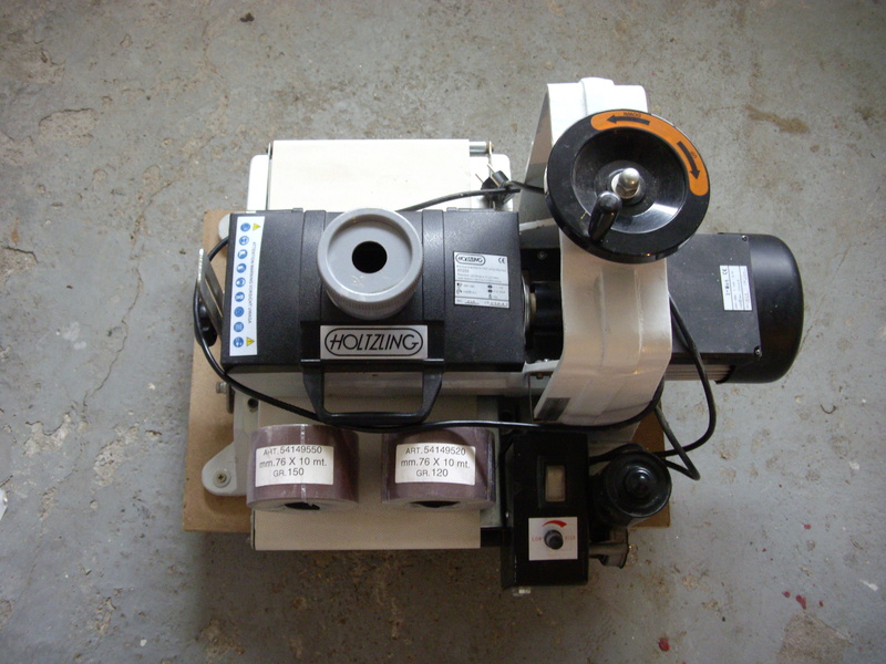 (VENDUE)À vendre ponceuse calibreuse à cylindre  Imgp3425