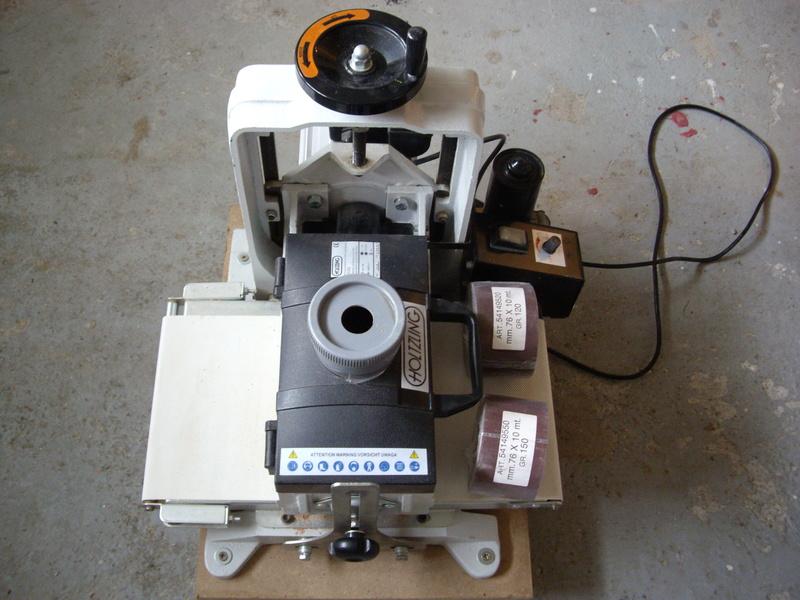 (VENDUE)À vendre ponceuse calibreuse à cylindre  Imgp3429