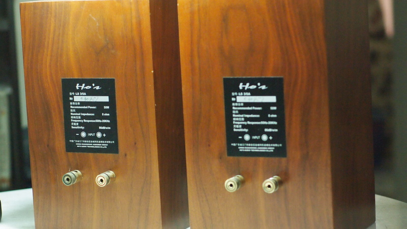 Ho's LS3/5A speakers  (Used) P1015712