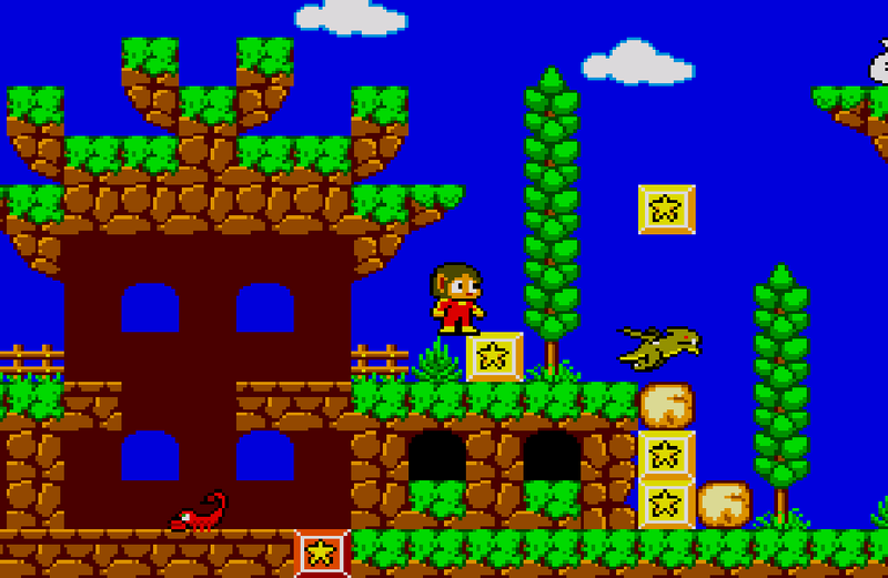 Alex Kidd 2: Curse in Miracle World - Page 17 Level_14