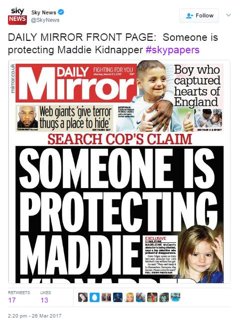 Former Detective Inspector Dave Edgar says the motive for taking Madeleine was sexual and insists her parents had nothing to do with her disappearance 111