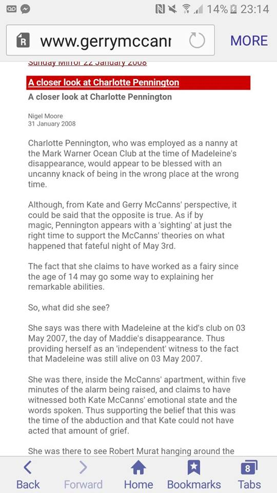 """**NEW** Daily Mirrors, 18, 21 & 22 Apr - EX-DETECTIVE COLIN SUTTON IS ACTIVELY CONTRIBUTING TO THIS THREAD (was: Daily Mirror, 18 Apr 2017 """"What REALLY happened the night Madeleine disappeared"""") - Page 4 Drmr10"""