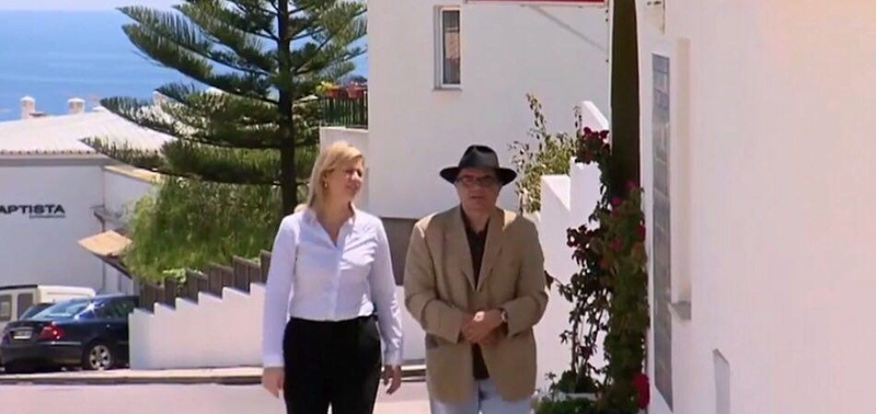 "Amaral denies giving an interview to Australian channel:  ""I do not know how they did it, I've been to many beaches, but never with that journalist [Rahni Sadler]"" Ga110"