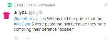 J. Wilkins's dodgy 7th May statement  Jes_wi10